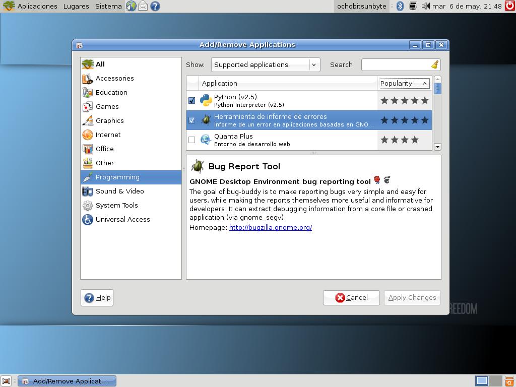 gNewSense-instalar-aplicaciones