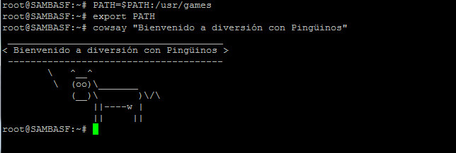 cowsay-linux