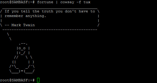 fortune-cowsay