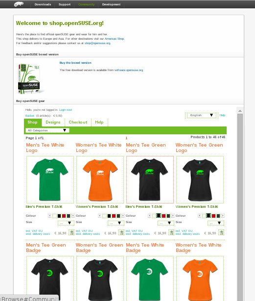 opensuse-shop