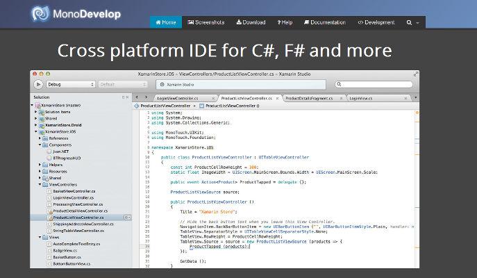 Programación multiplataforma con MonoDevelop