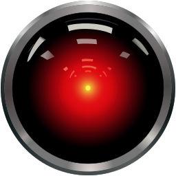 Ojo cámara del computador HAL 9000