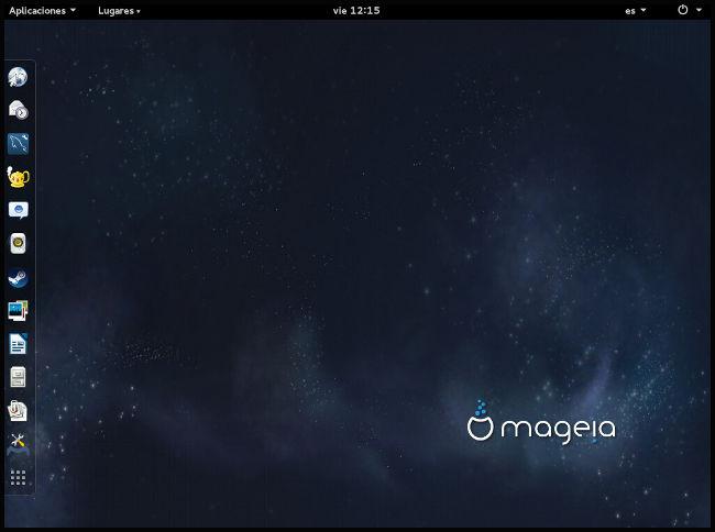 Mageia 5 con Gnome 3