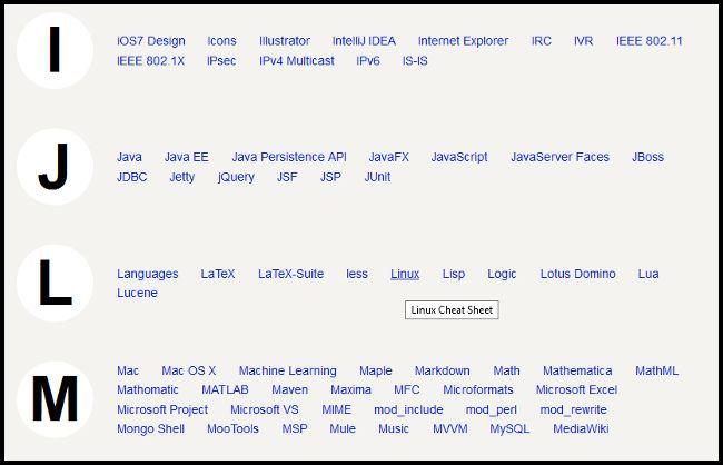 Lista lenguajes y sistemas