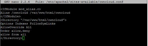 Configuración Virtual Host