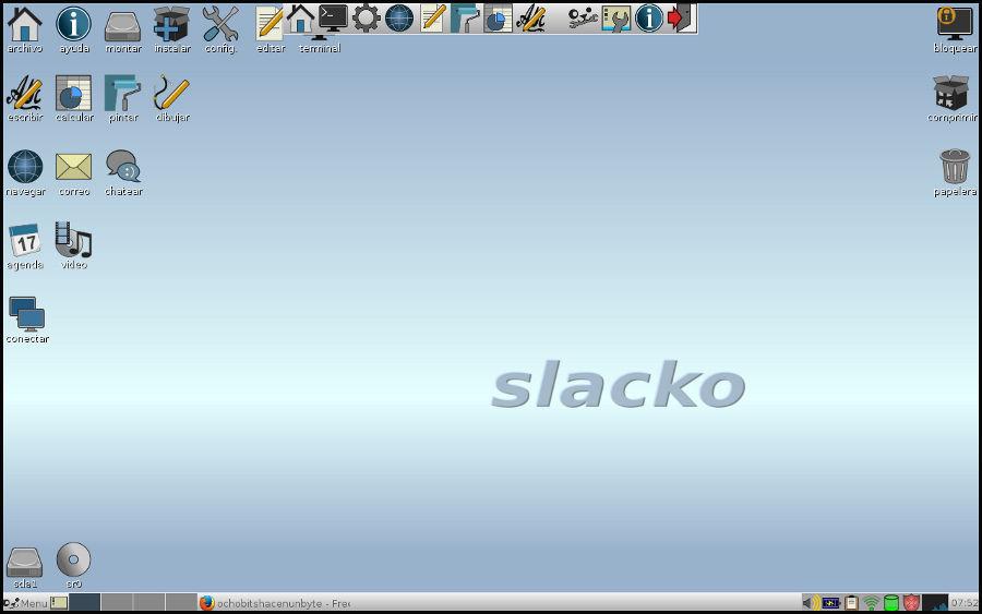 Escritorio Slacko