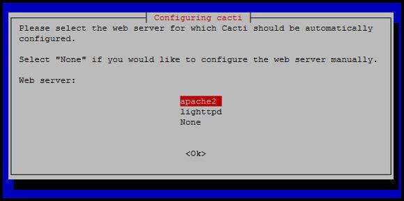 Configuración base de datos