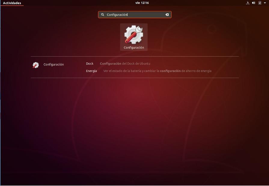 Configuración en Ubuntu