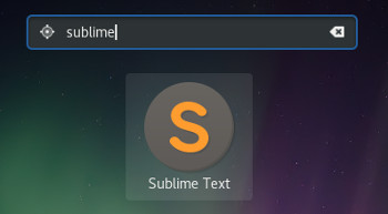 Sublime Text in Fedora 28