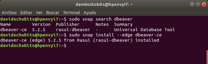 Cómo instalar DBeaver en Ubuntu 18 04 - ochobitshacenunbyte