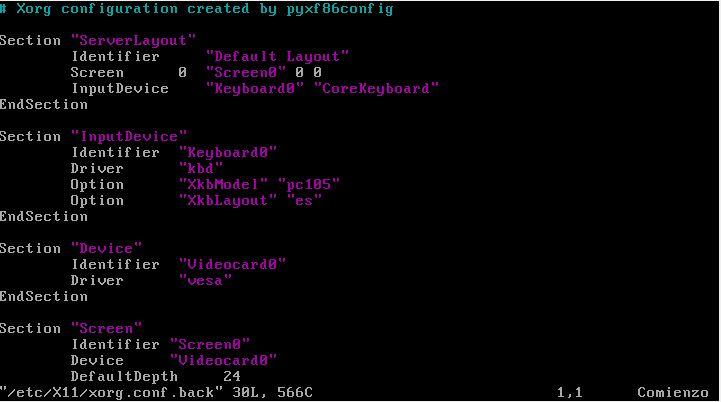 Instalar y configurar un servidor gráfico X11 en Linux
